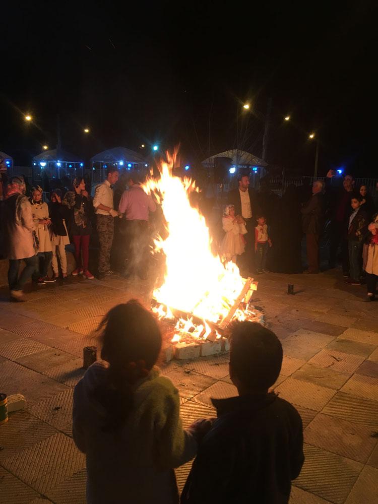 جشن چهارشنبه سوری ، سفرهای رادینا