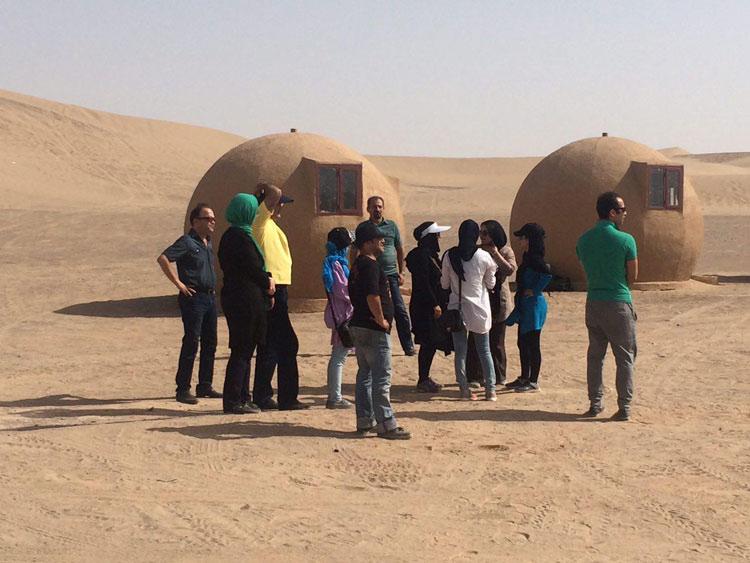 کمپ کویرنوردى باران (کمپینگ باران یزد)