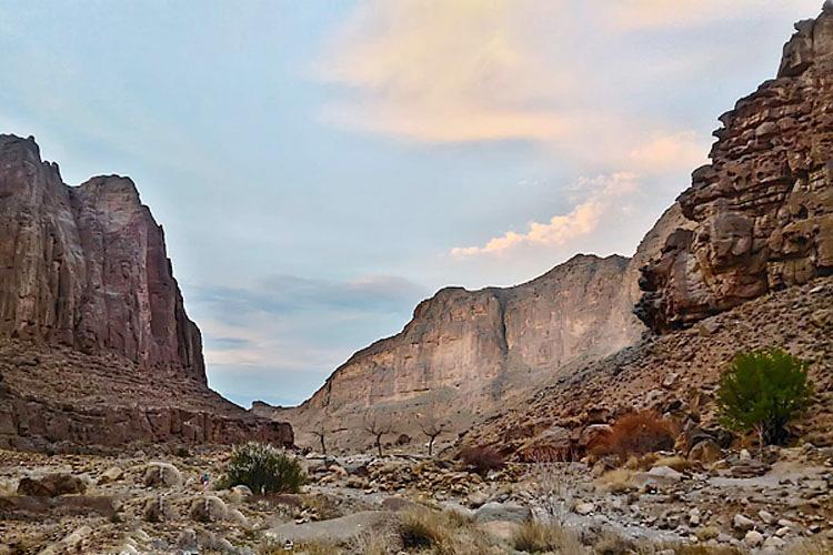 منطقه حفاظت شده آبشار دامگاهان مهریز