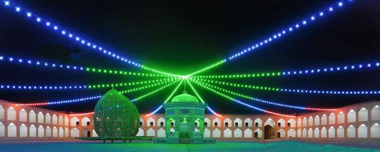 مراسم جشن اعیاد شعبانیه در حسینیه سفید اشکذر