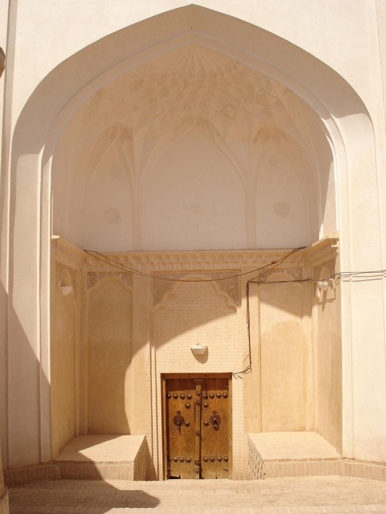 ورودی خانه صولت (موزه مردم شناسی) ابرکوه