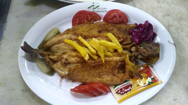رستوران سبز مهریز