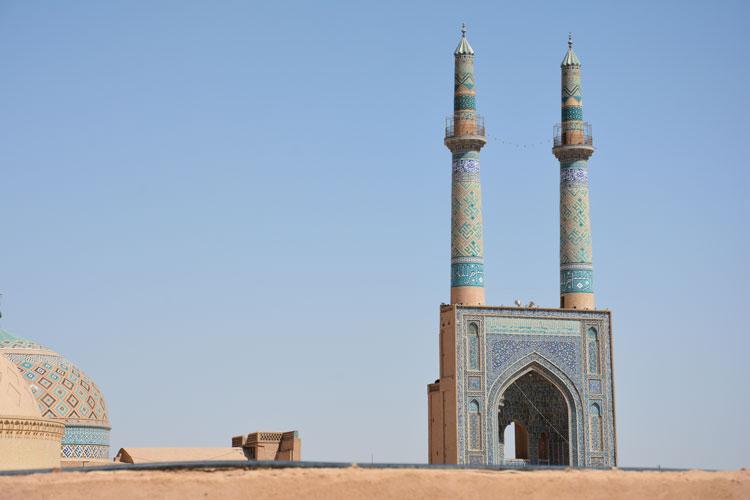 سفرنامه ایرج افشار به یزد