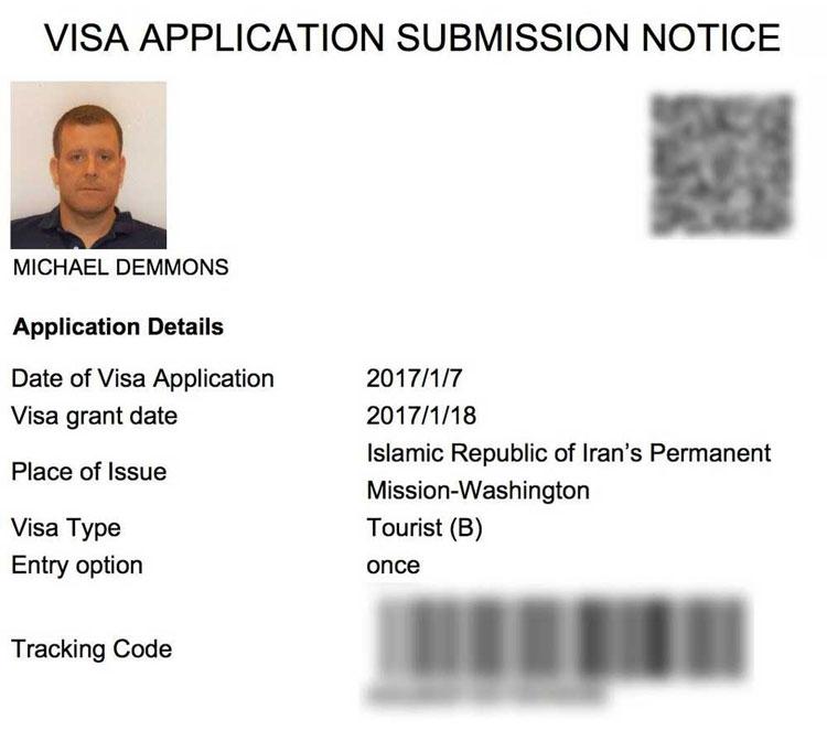 Iran Visa