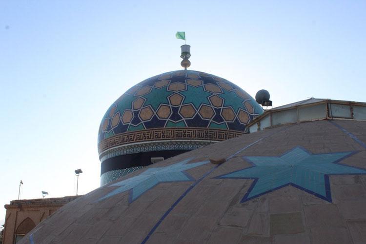 گنبد امامزاده عبدالله بافق