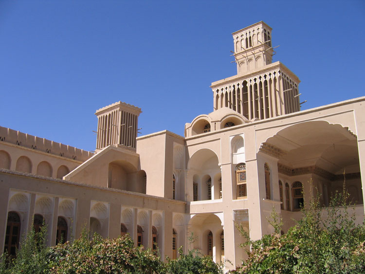 Aghazadeh Mansion in Abarkuh