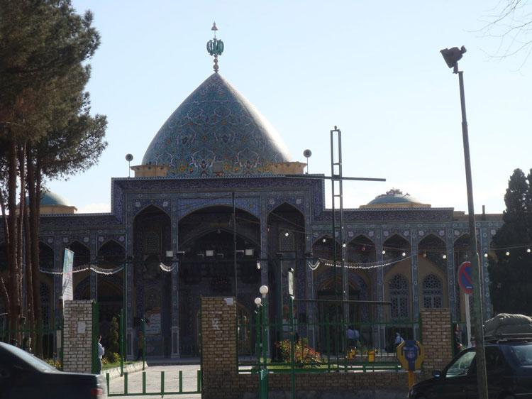 ورودی امامزاده سید جعفر یزد