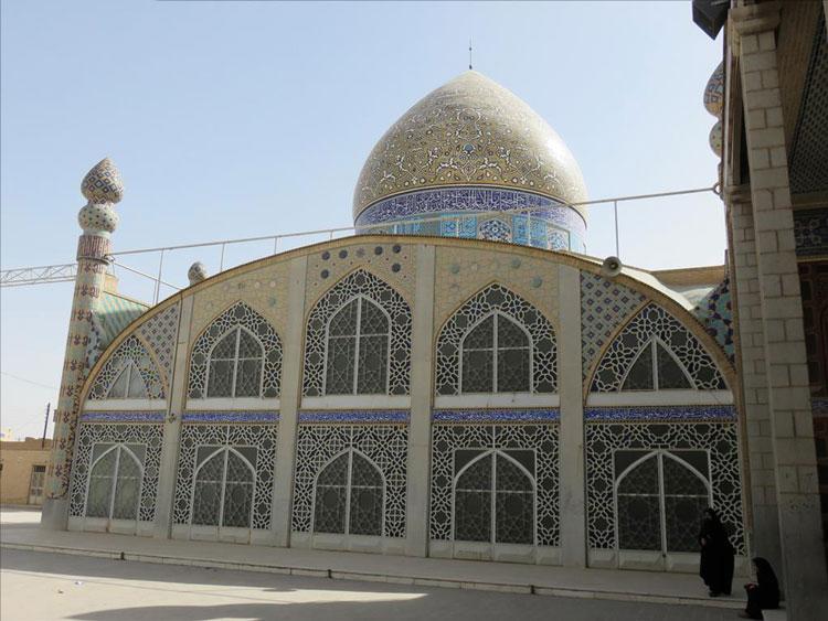 گنبد مسجد حظیره یزد (روضه محمدیه)