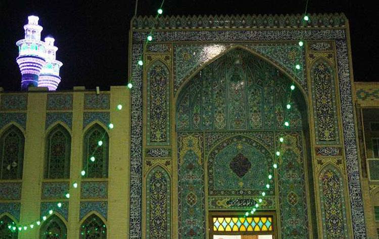 ورودی امامزاده جعفر یزد