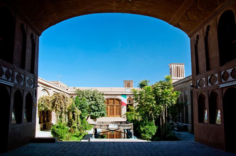 خانه لاری های یزد ( موزه اسناد تاریخی یزد )
