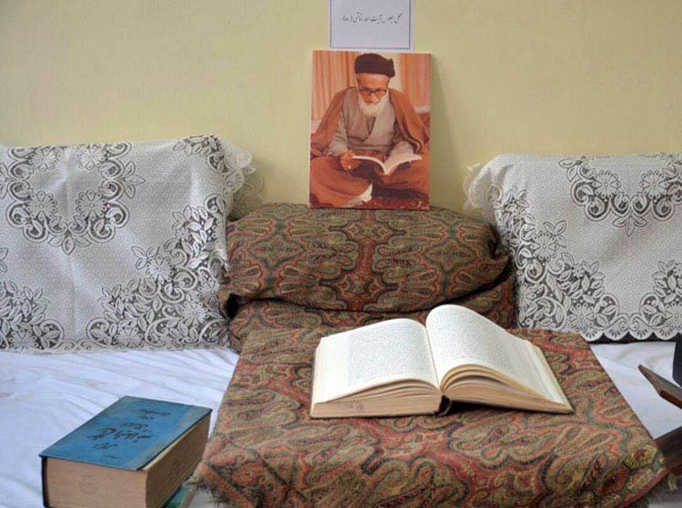 آیت الله خاتمی در موزه مفاخر اردکان (موزه رجال اردکان)