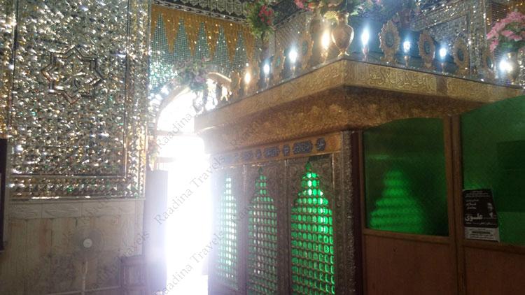 ضریح امامزاده سید غیاث الدین مهریز