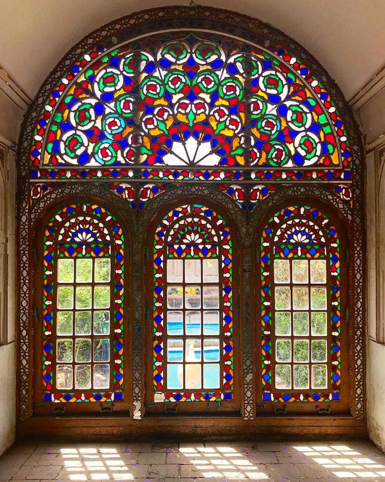 تالار آیینه خانه کلاهدوزها (موزه آب یزد)