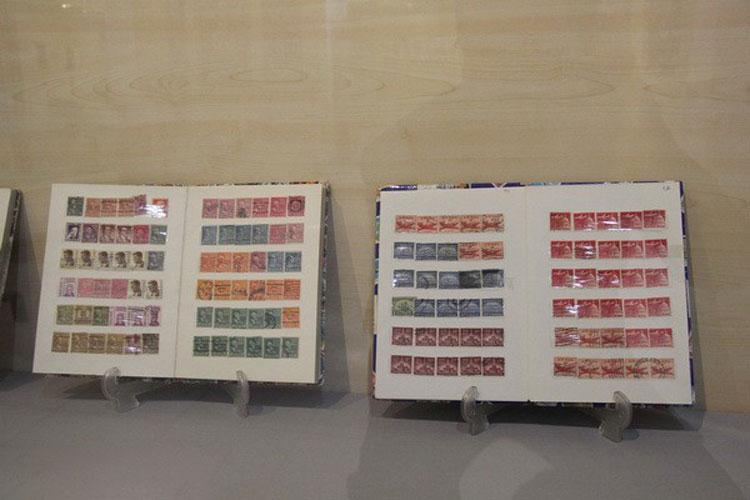 تمبرهای تاریخی موزه کاظمینی یزد