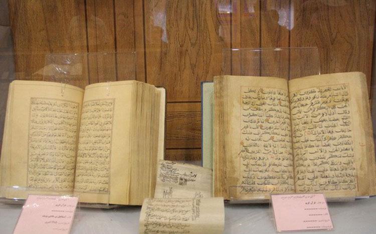 نسخ خطی موزه کاظمینی یزد