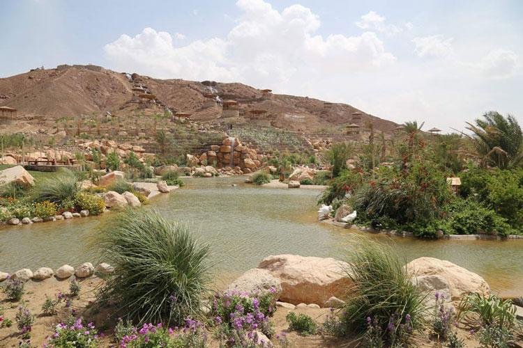 پارک آبشار بافق