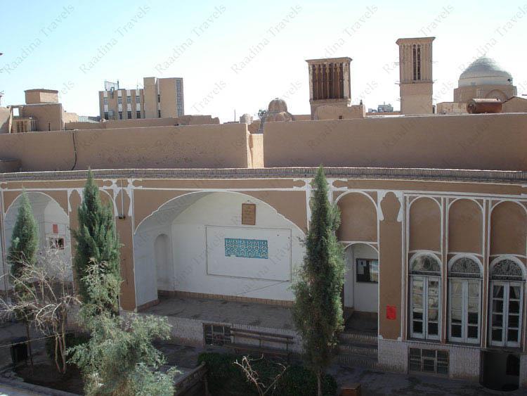 تالار و بادگیرهای خانه حاج كاظم رسولیان یزد (دانشکده معماری و شهرسازی)