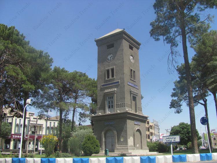 برج ساعت مارکار یزد