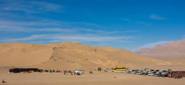 کمپ های کویری یزد