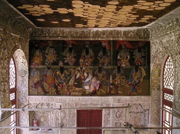 کشف آثار تاریخی ، کاخ سلیمانیه