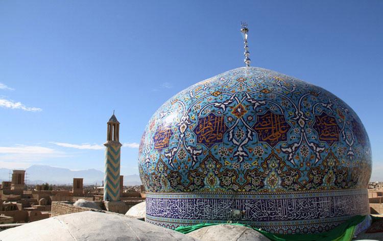 گنبد امامزاده سید تاج الدین یزد (سید پنهون)