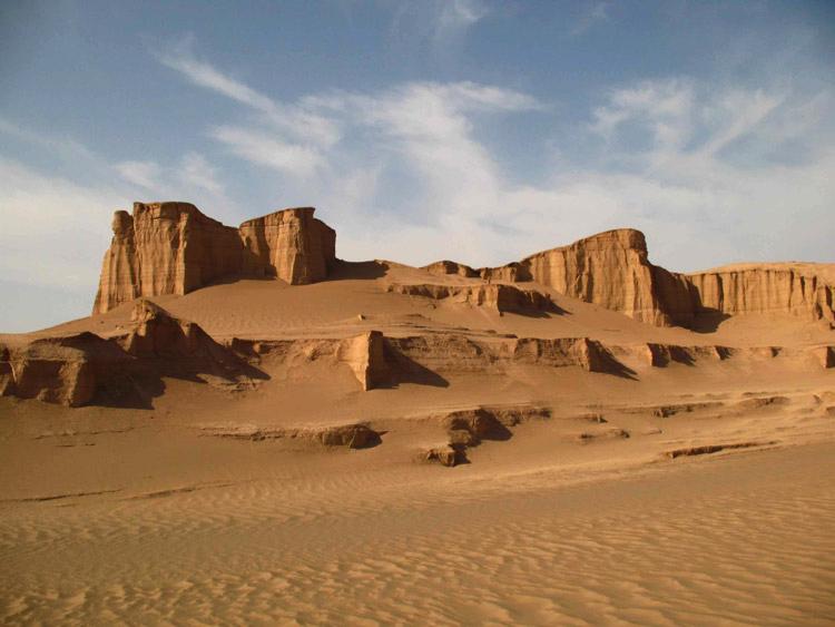 Ardakan Desert or Kavir-e Siah Kuh Desert