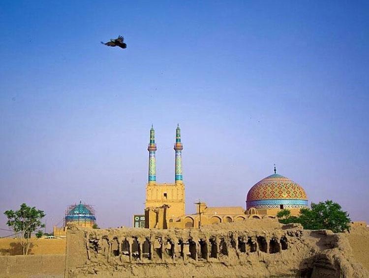 بقعه سید رکن الدین و مسجد جامع یزد