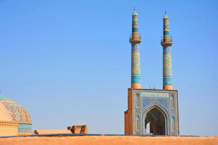 صحن مسجد جامع یزد