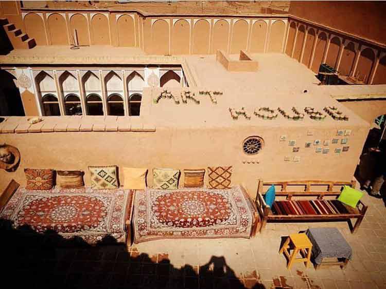 بام یزد در خانه هنر یزد