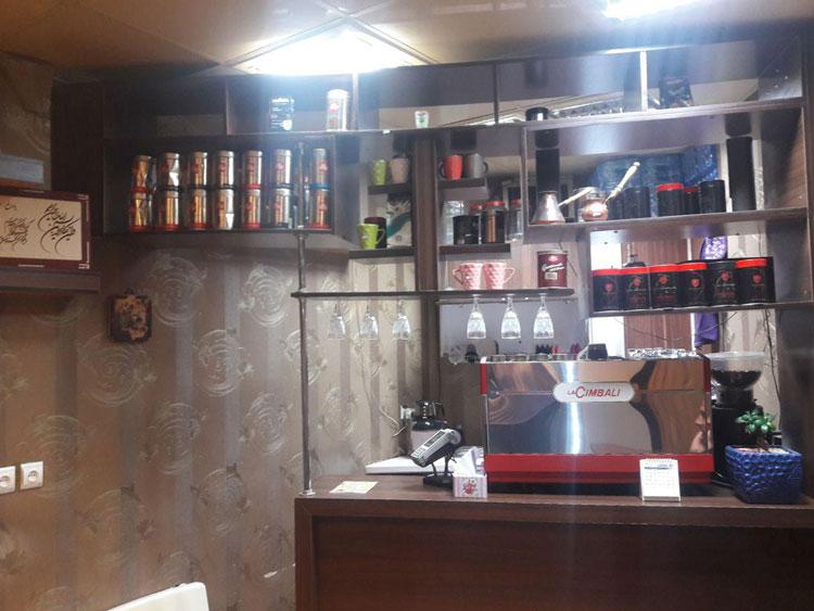 کافه قهوه تلخ و شیرین یزد