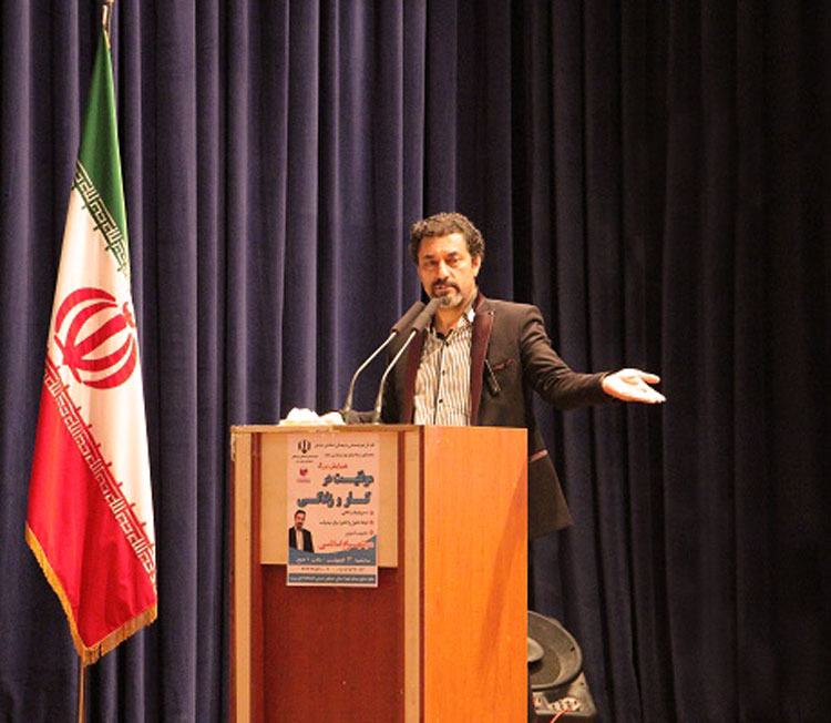 همایش هزار راه نرفته در یزد با حضور دکتر شهرام اسلامی