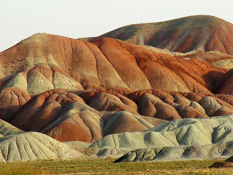 Colorful Mountains of Tabriz