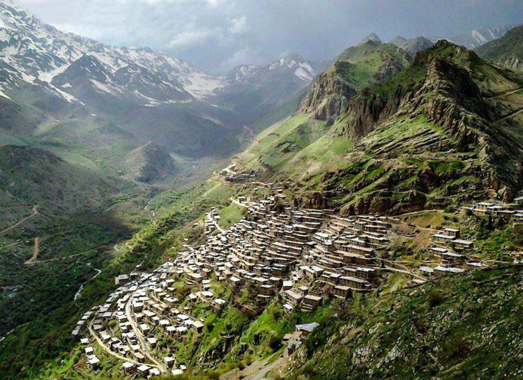 Uraman Takht Village