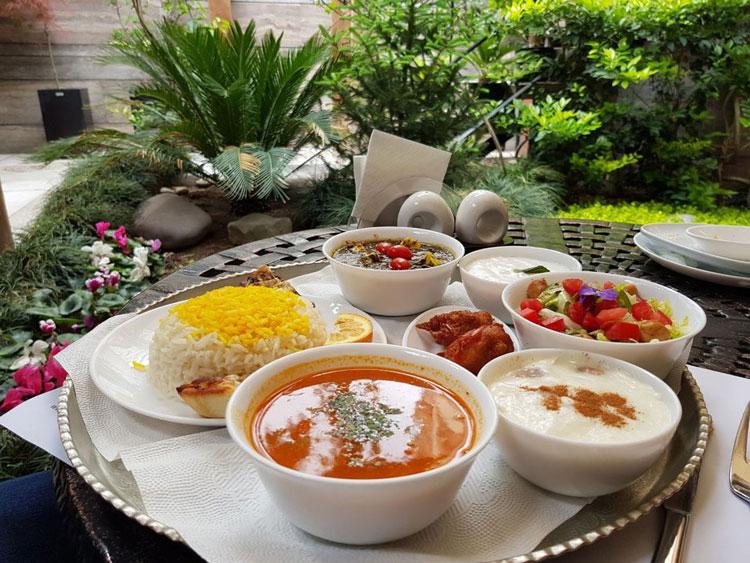 Iranian Vegetarian Restaurants