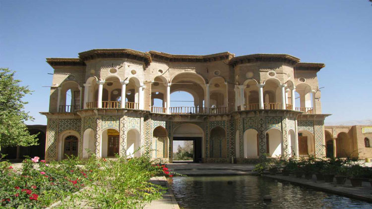 Persian Gardens on UNESCO World Heritage Site
