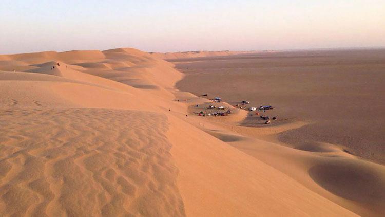 Rig-e Zarin Desert