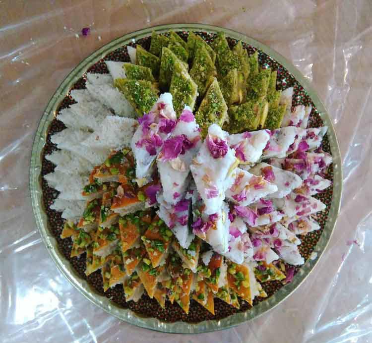 شیرینی باغشاهی یزد