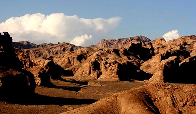 نمای منطقه حفاظت شده کوه بافق