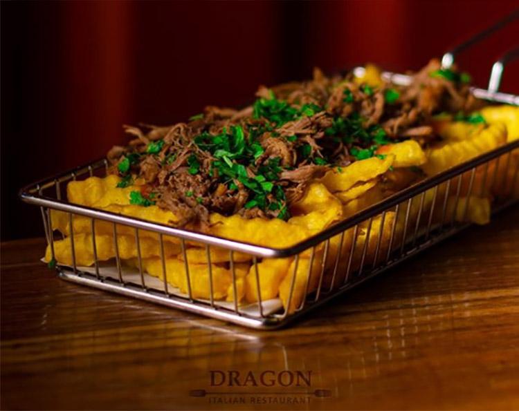 رستوران ایتالیایی دراگون یزد