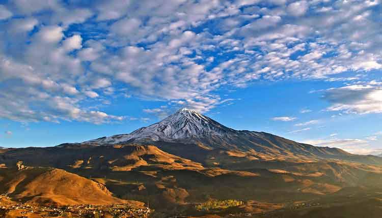 Mount Damavand, the Tallest Mountain in Iran