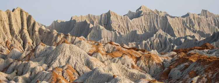 Martian Mountains, the Miniature Mountains