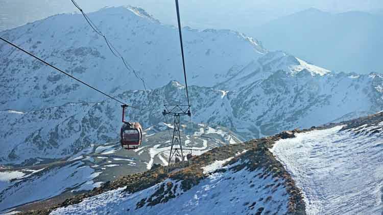 Mount Tochal, Bame Tehran