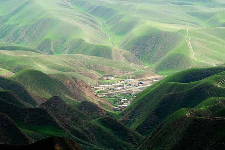 Turkmen Sahra, Turkmen plain
