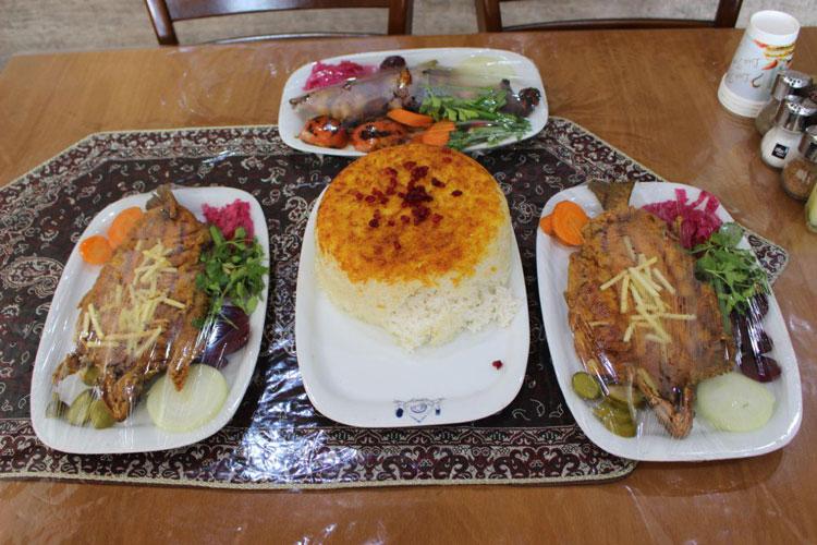 رستوران شهید ساداتی یزد