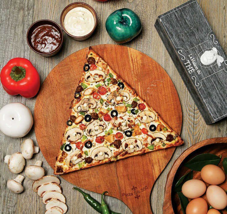 پیتزا سیب 360 درجه یزد