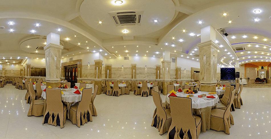 تالارهای عروسی و پذیرایی