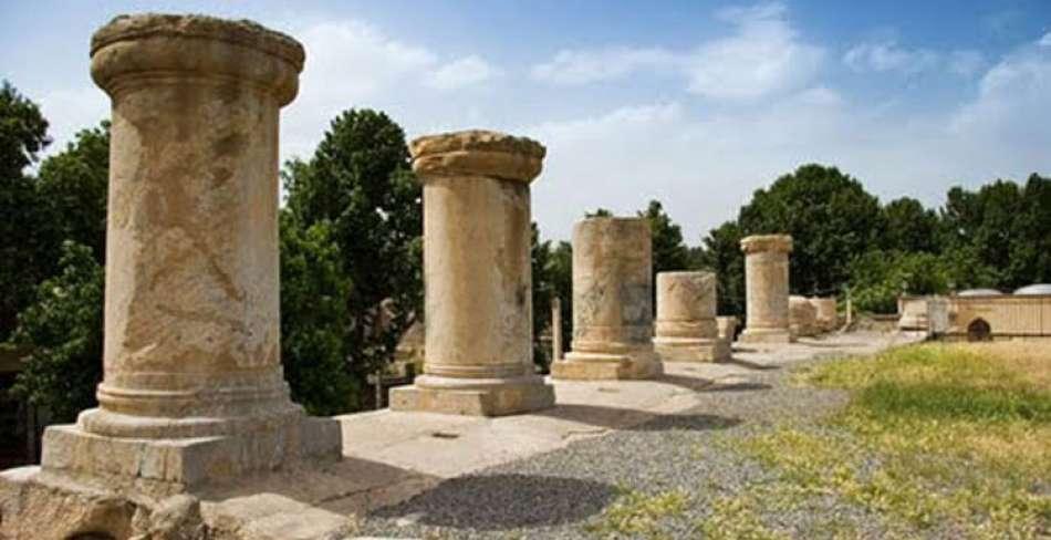 ساماندهی معبد تاریخی آناهیتا