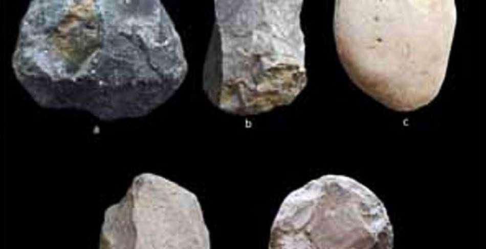 کشف آثار دوره پارینه سنگی در قشم