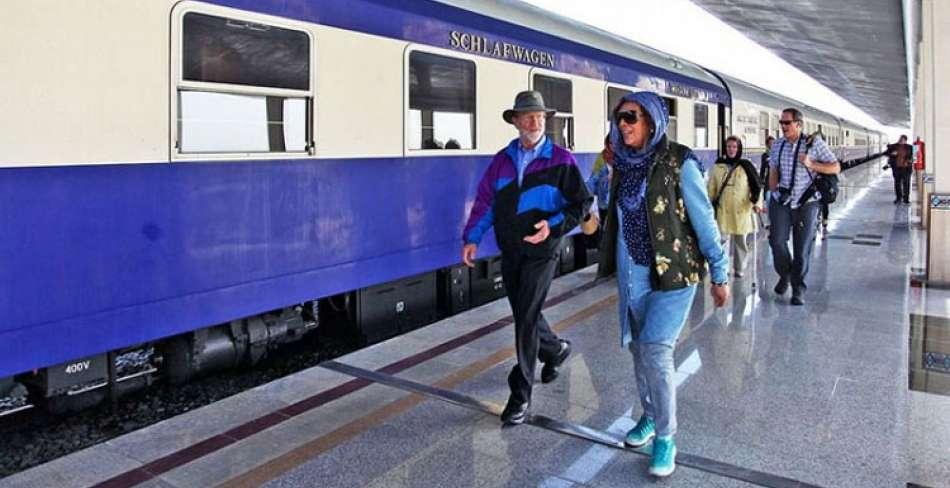 راه اندازی قطار گردشگری بین المللی