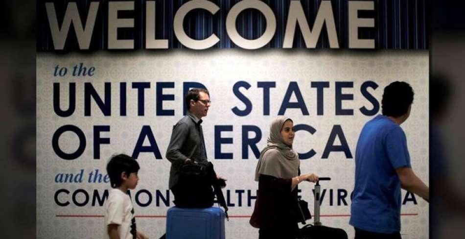 آمریکا ممنوعیت ورود مهاجران را لغو کرد
